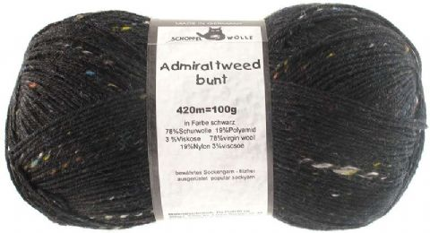 ADMIRAL TWEED BUNT black 880